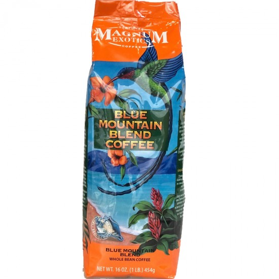 Кофе в зёрнах Magnum Exotics Jamaica Blue Mountain Blend Whole Bean 454 г