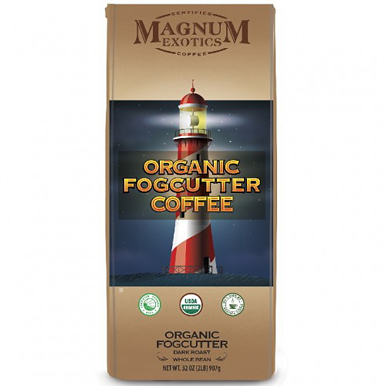 Magnum Exotics Organic Fogcutter Whole Bean 907 г