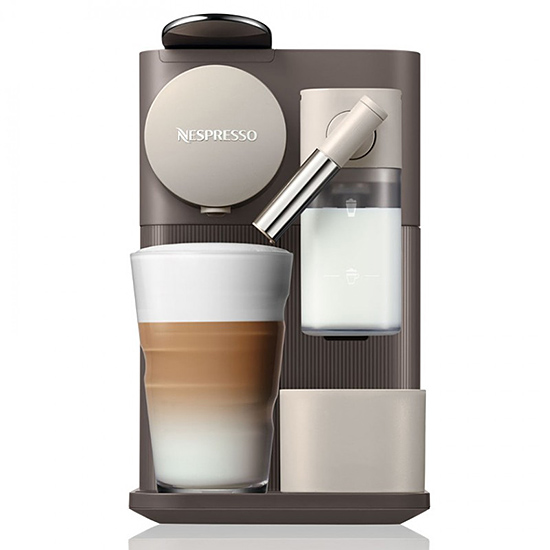 Капсульная кофеварка Delonghi Nespresso Lattissima One EN500 Brown