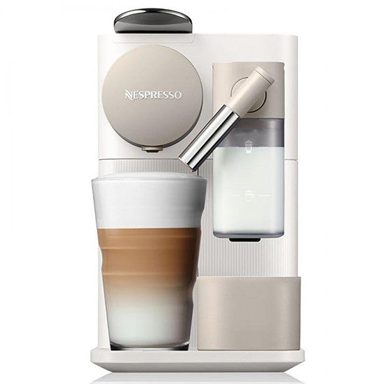 Капсульна кавоварка Delonghi Nespresso Lattissima One EN500 White