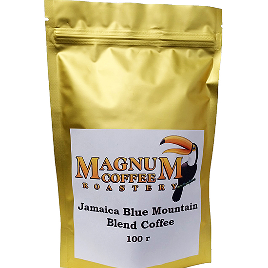 Magnum Exotics Jamaica Blue Mountain Blend Whole Bean 100 г (Пробник)