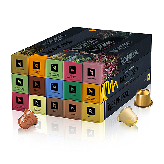 Кофе в капсулах Nespresso Selection Milk (150 шт.)