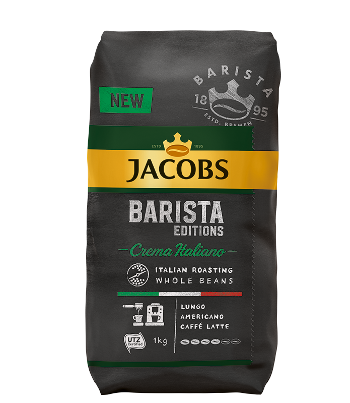 Кофе в зернах Jacobs Barista Edition Crema Italiano 1000 г