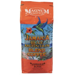Magnum Exotics Jamaica Blue Mountain Blend Coffee Whole Bean 907г.
