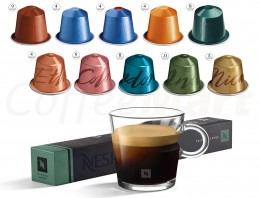 Кофе в капсулах Nespresso ассорти Lungo collection (10 шт.)